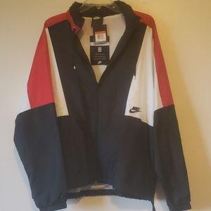 Nike swoosh track jacket